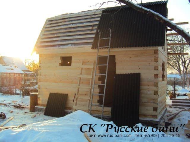 строить зимой