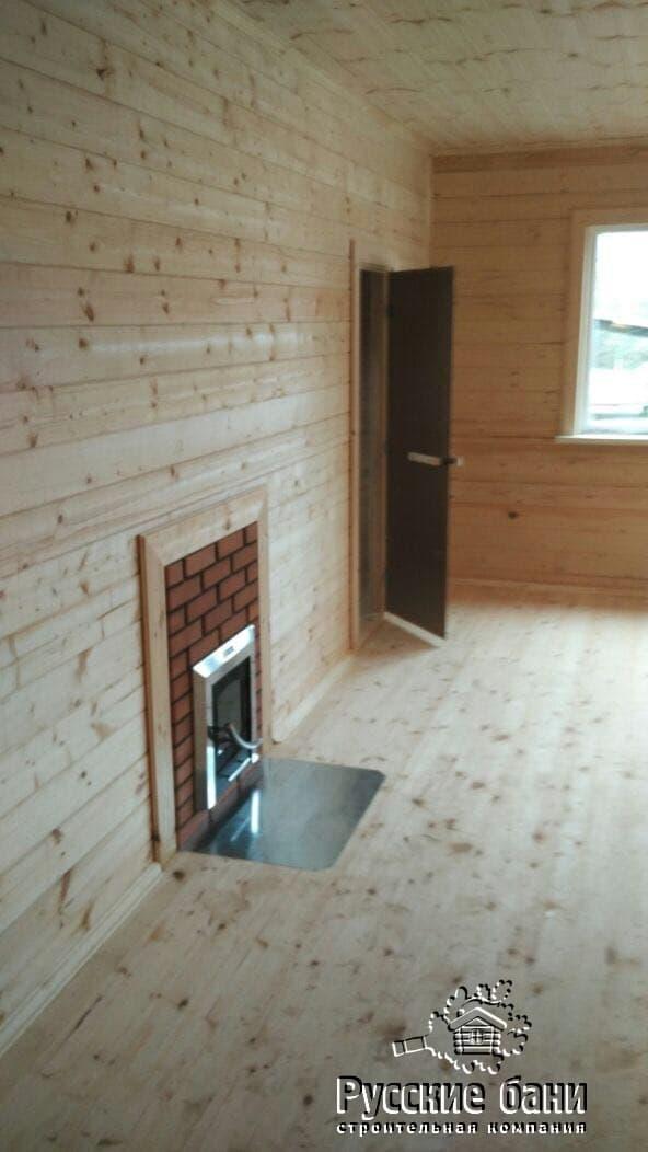 Баня с большой комнатой отдыха